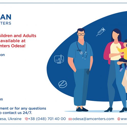 Immunisation for Children and Adults at AMC Odesa!